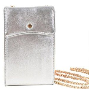 Nollia Bags - Multipurpose  Silver Wallet Bag